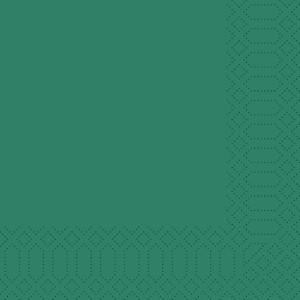 Serviette, Zelltuch, jägergrün, 40 x 40 cm