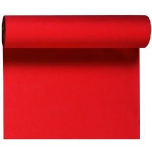 Tischläufer Tête-à-Tête, rot, 0,40 x 24 m