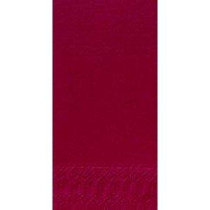 Serviette, Zelltuch, bordeaux, 33 x 33 cm
