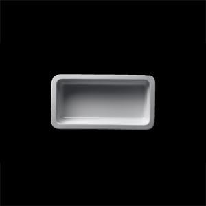 GN-Schale rechteckig, 1/3-65 mm
