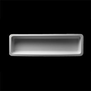 GN-Schale rechteckig, 2/4-65 mm