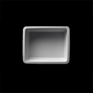 GN-Schale rechteckig, 1/2-100 mm