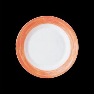 Teller flach, Ø = 23,5 cm, Brush Orange