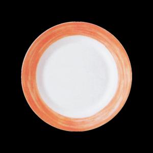 Teller flach, Ø = 25,4 cm, Brush Orange