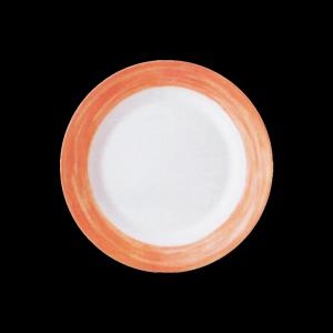 Teller tief, Ø = 22,5 cm, Brush Orange