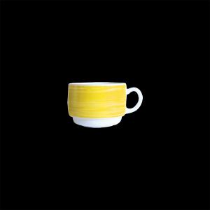 Kaffee-Obertasse, Inhalt: 0,19 l, Brush Yellow