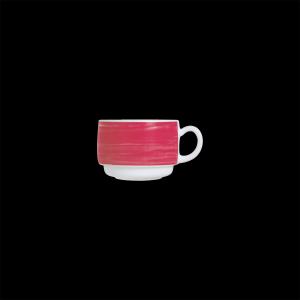 Kaffee-Obertasse, Inhalt: 0,19 l, Brush Cherry