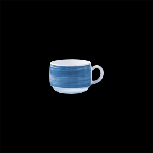 Kaffee-Obertasse, Inhalt: 0,19 l, Brush Blue Jean