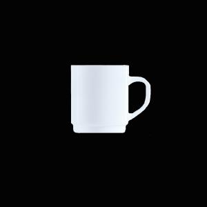Kaffeebecher, Inhalt: 0,29 l, Restaurant Uni weiß