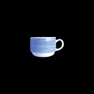 Kaffee-Obertasse, Inhalt: 0,19 l, Brush Blue