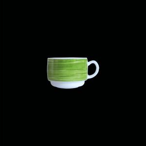 Kaffee-Obertasse, Inhalt: 0,19 l, Brush Green