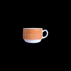 Kaffee-Obertasse, Inhalt: 0,19 l, Brush Orange