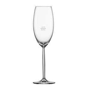 Champagnerglas mit Moussierpunkt Gr. 77, Diva, Inhalt: 293 ml, /-/ 0,1 l