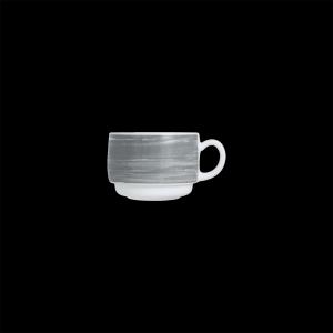 Kaffee-Obertasse, Inhalt: 0,19 l, Brush Grey