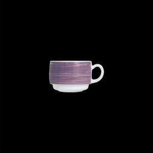 Kaffee-Obertasse, Inhalt: 0,19 l, Brush Purple