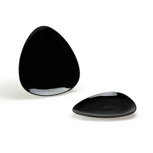 Platte Vassoio, oval, Länge: 27,0 cm, schwarz