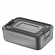 Lunch Box/Brotdose Aluminium 23x15x7cm